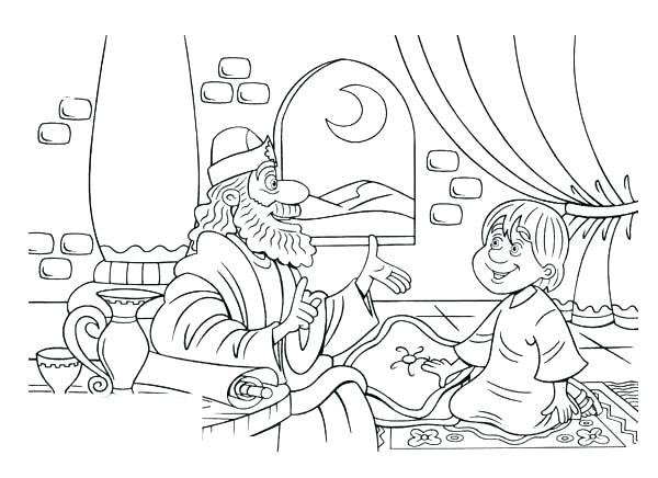 600x436 Samuel Coloring Page Coloring Pages From The Bible Coloring Pages