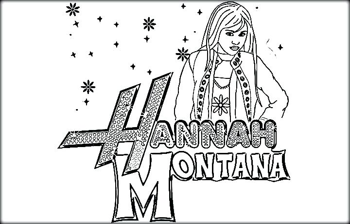Free Hannah Montana Coloring Pages in 2020 | Coloring pages ... | 460x720