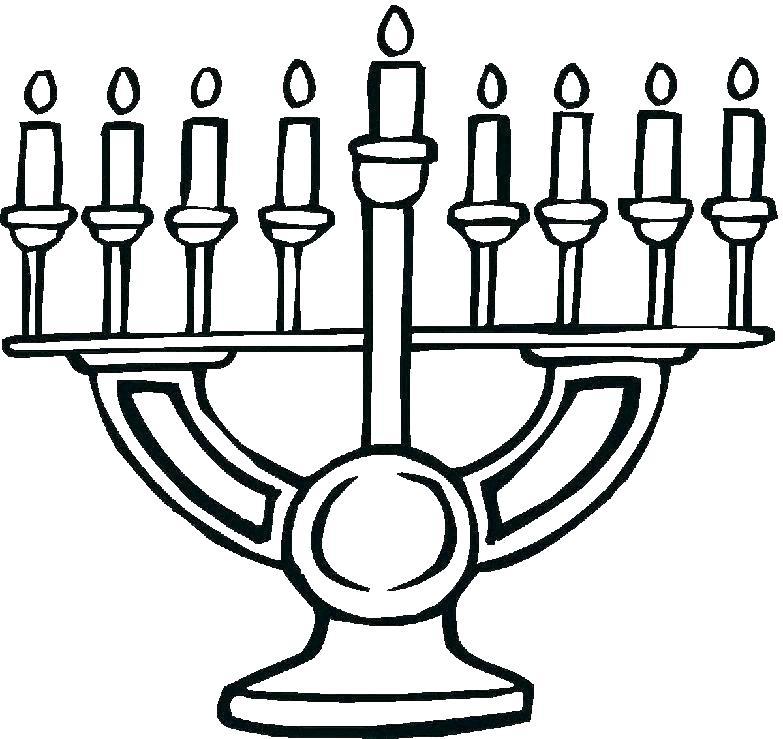 783x739 Hanukkah Coloring