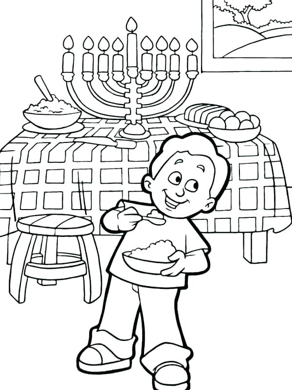 600x802 Free Printable Hanukkah Coloring Pages Coloring Pages Printable