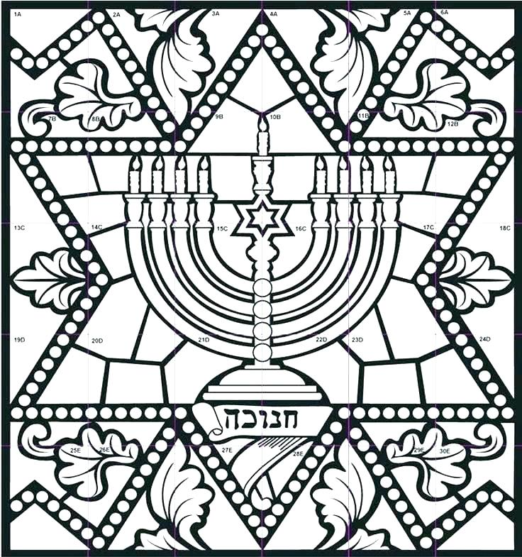 Hanukkah Coloring Pages Printable At Getdrawings Com Free For