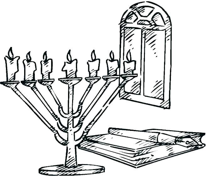 660x562 Hanukkah Coloring Sheet