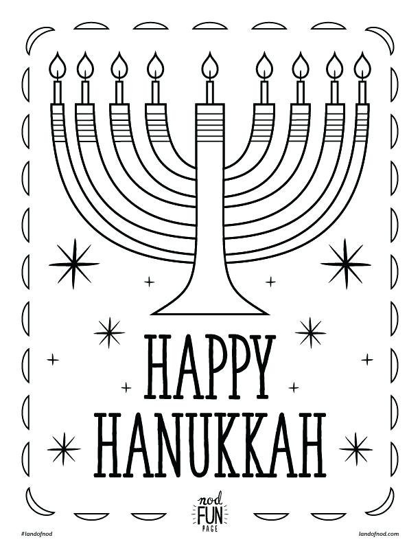 612x792 Chanukah Coloring Pictures And With Smiling Children Coloring Page