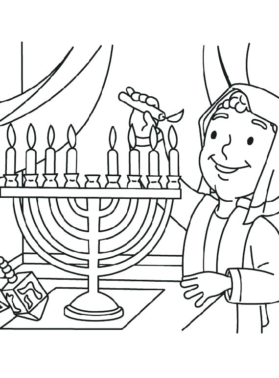 570x770 Free Printable Hanukkah Coloring Pages Coloring Pages Printable