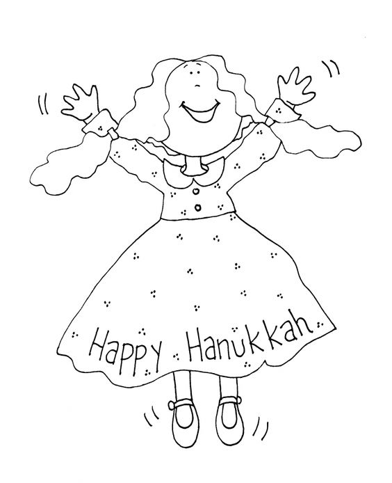 564x694 Free Printable Hanukkah Coloring Pages For Kids