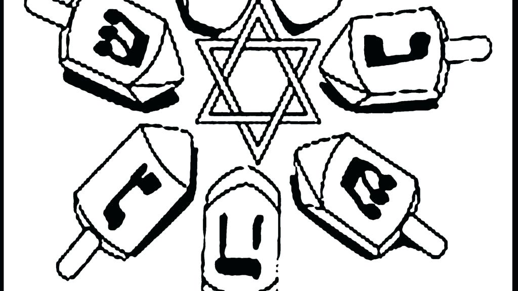 1024x576 Hanukkah Candles Coloring Pages Kids Coloring Happy Coloring Page