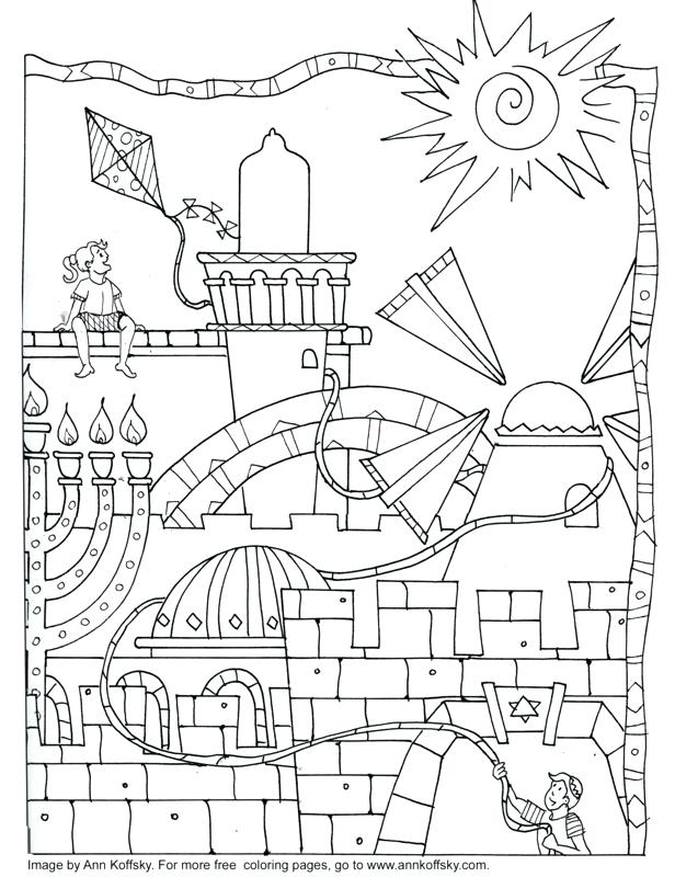616x800 Best Of Hanukkah Coloring Pages Printable And Free Kids Coloring