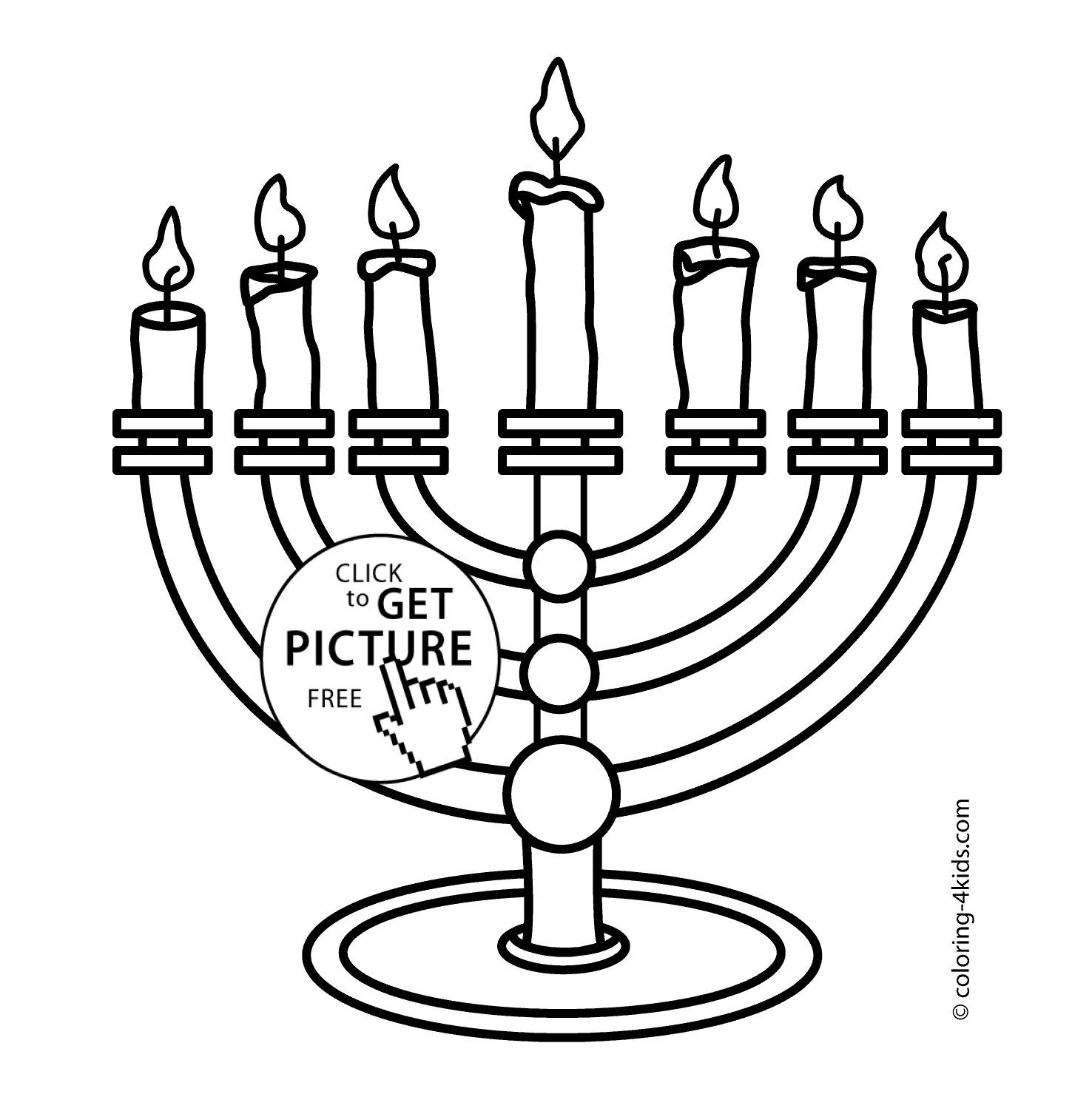 1476x1483 Menorah Coloring Page Collections Free Coloring Pages