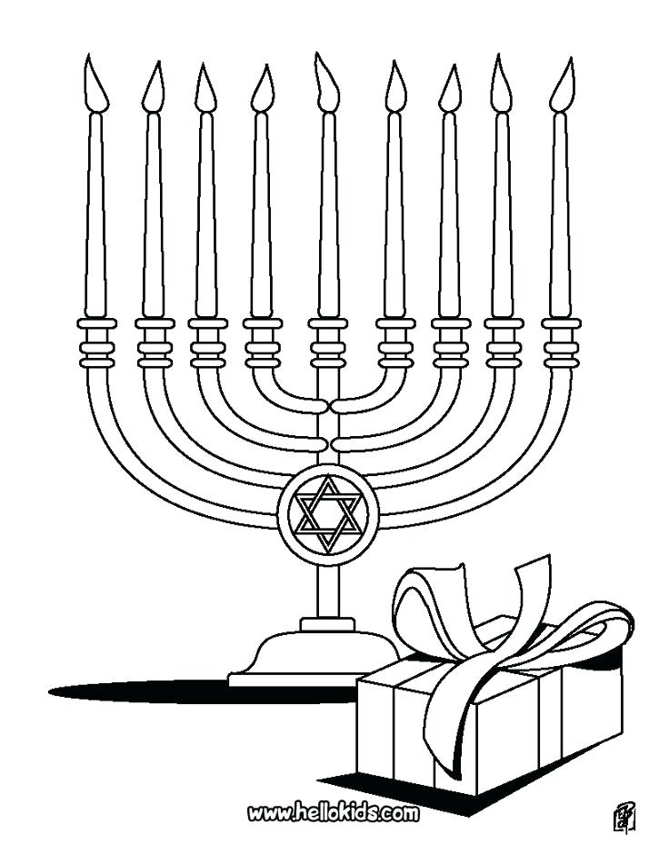 736x951 Hanukkah Menorah Colouring Pages Printable Coloring Coloring Pages