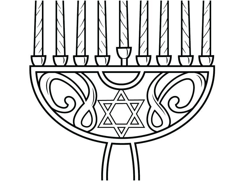 827x609 Chanukah Coloring Pages Coloring Pages Design Menorah Coloring