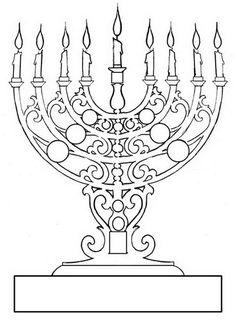 236x320 Hanukkah Coloring Pages Menorahs Menorah, Hanukkah And Hannukah