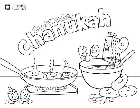 575x443 Hanukkah Para Colorear Coloring Pages Dibujos De Hanukkah Para