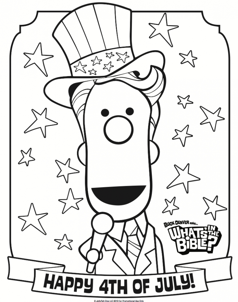 757x960 Get This Happy Of July Coloring Pages !