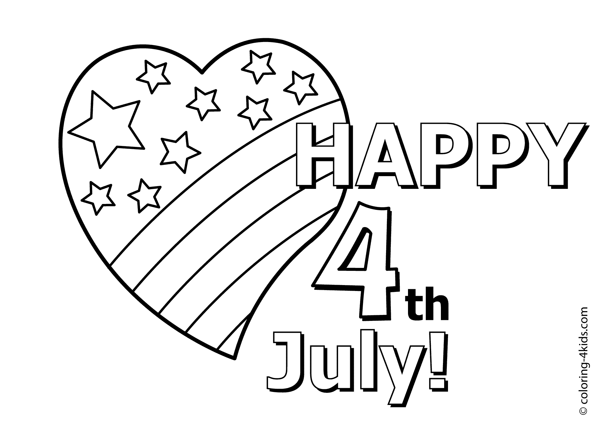 2079x1483 Practical Happy Of July Coloring Pages I Love Independence
