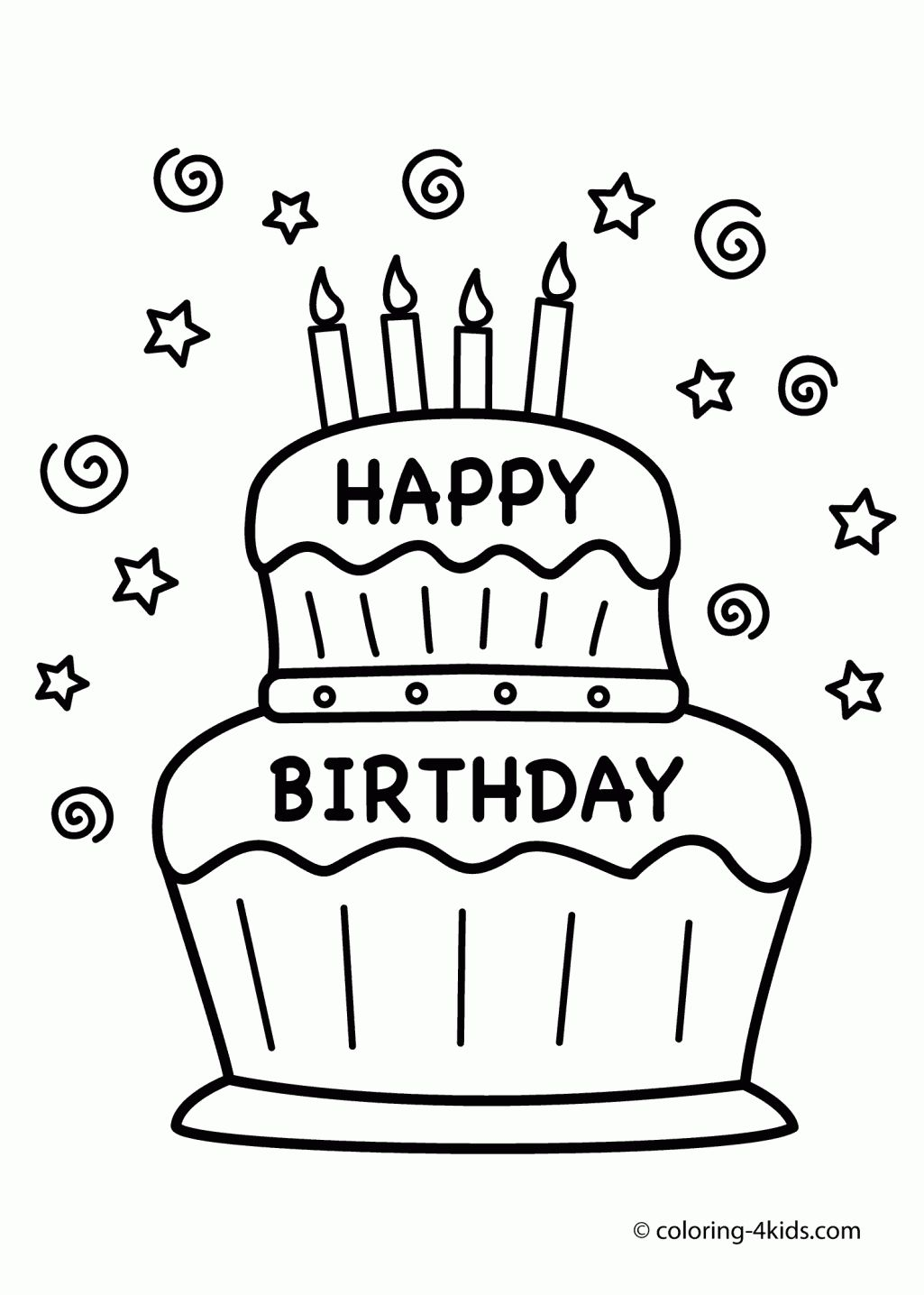 1025x1436 Security Happy Birthday Uncle Coloring Pages Fathers Day