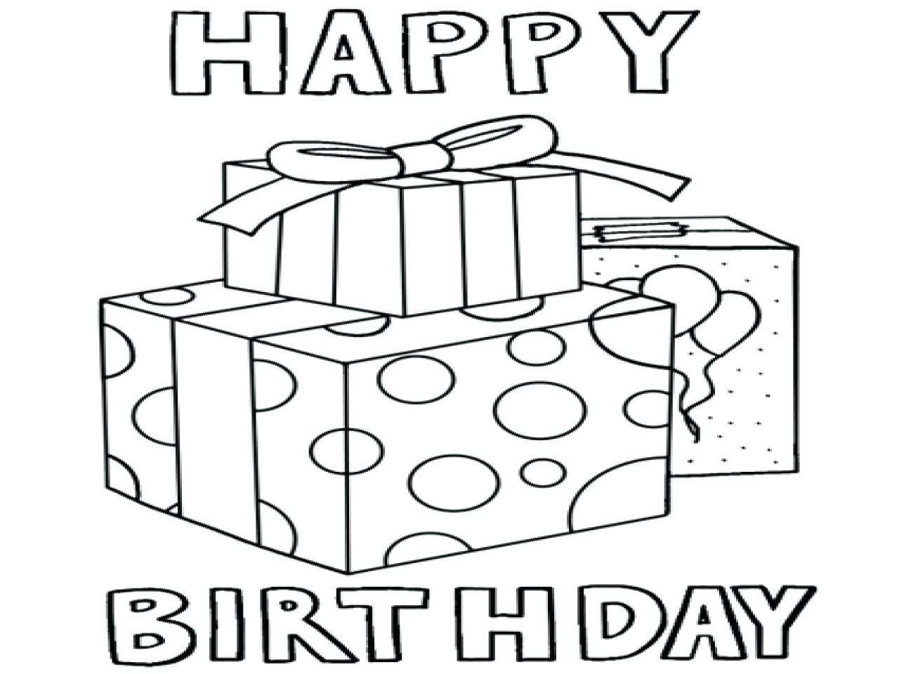 1280x960 Coloring Pages Happy Birthday Coloring Pages Reliable Sheets