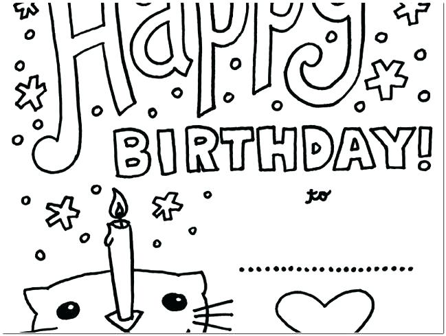 649x489 Happy Birthday Aunt Coloring Pages