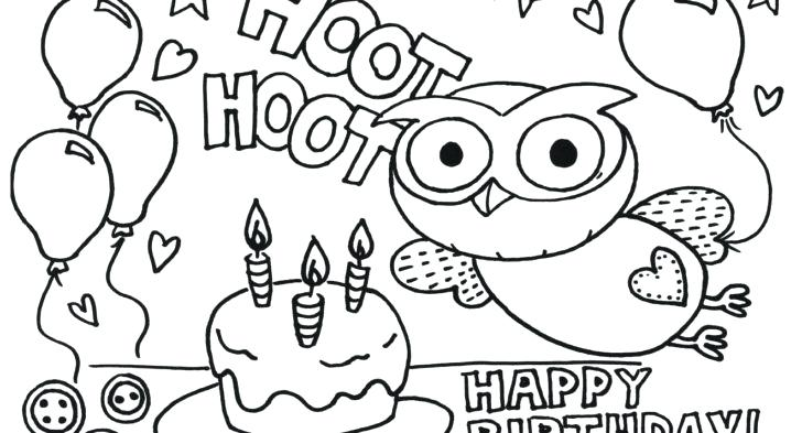 728x393 Hot Air Balloons Colouring Pages Birthday Balloons Coloring Page