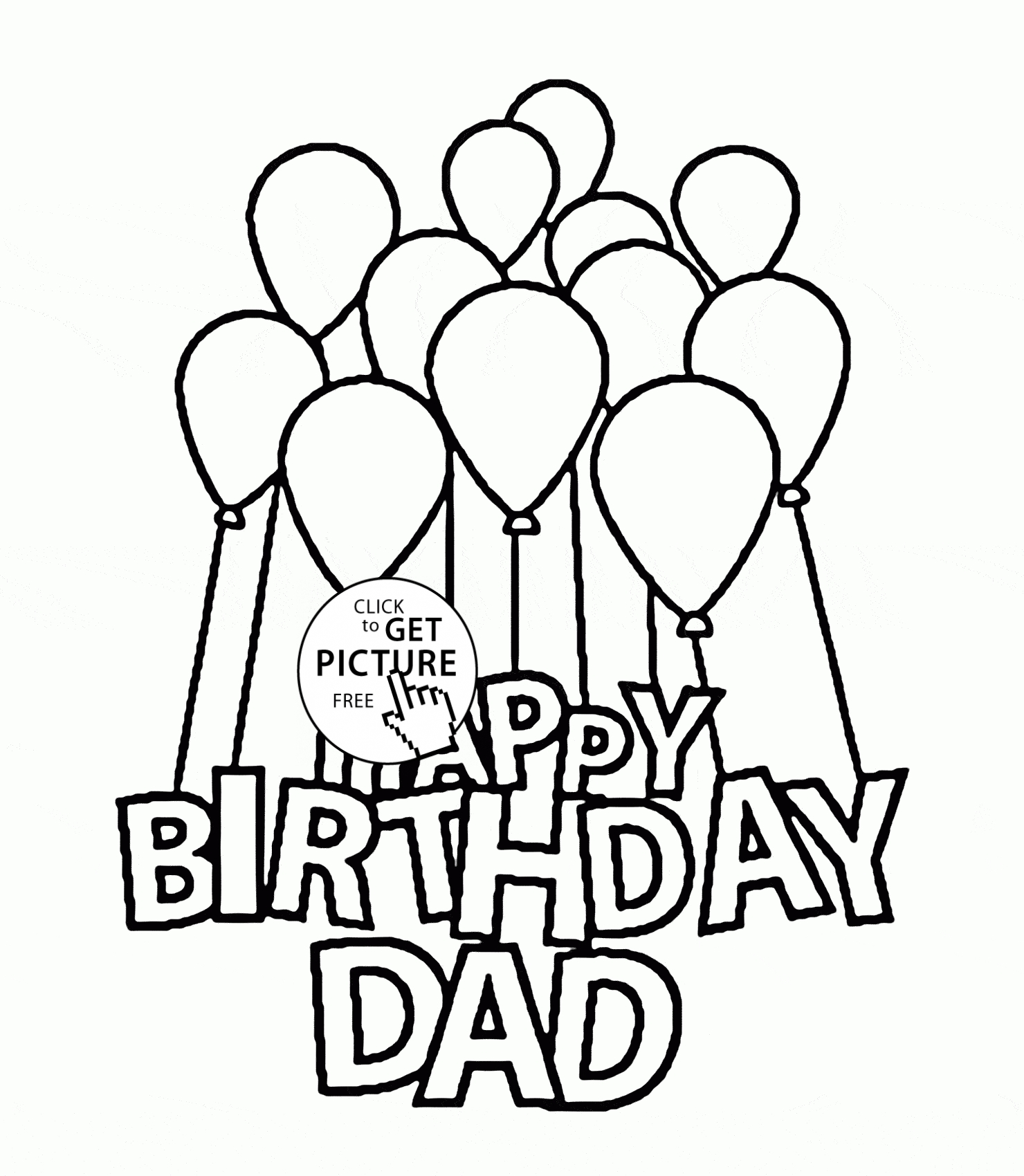 1480x1700 Unique Happy Birthday Dad Coloring Pages Design Free Coloring Pages