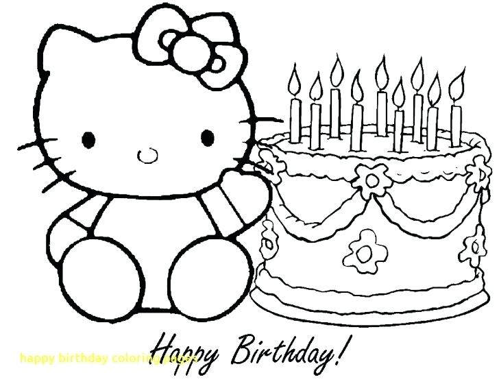 728x563 Boys Happy Birthday Balloons Coloring Pages