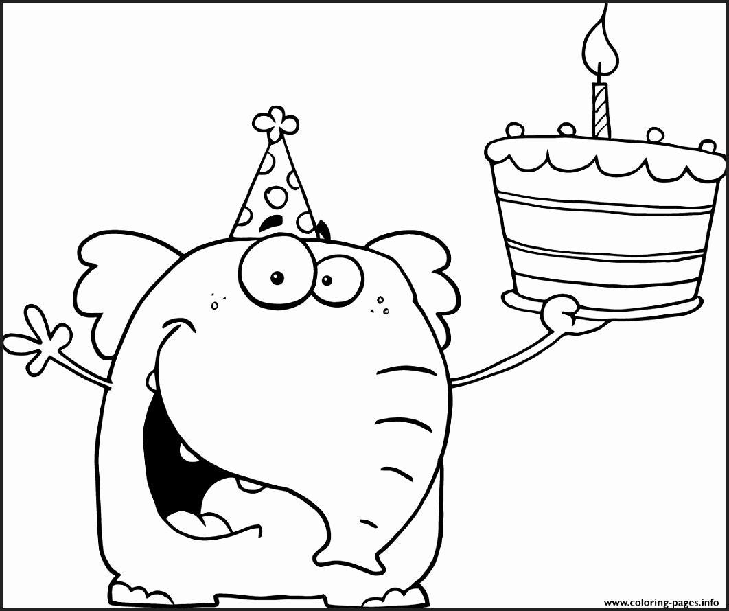 1062x890 Happy Birthday Brother Coloring Pages
