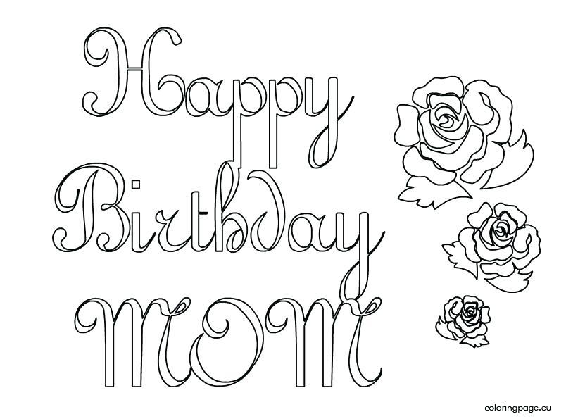 804x595 Happy Birthday Coloring Pages Disney Printable Coloring Happy