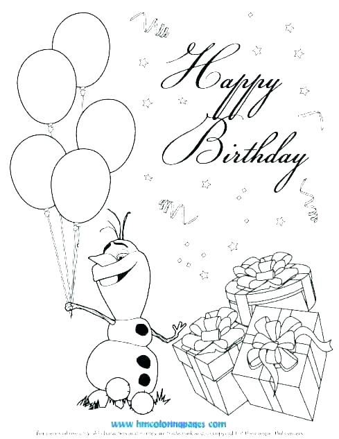 489x633 Coloring Pages For Birthday Cards Free Coloring Birthday Cards