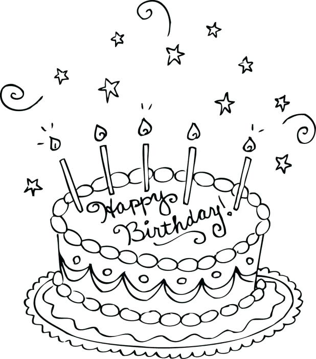 618x701 Free Printable Birthday Card For Kids To Decorate And Write Their