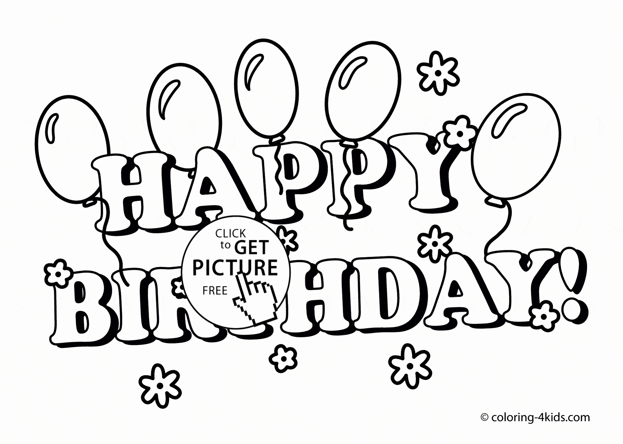 2080x1484 Birthday Card Print Out Unique Happy Birthday Card Printable