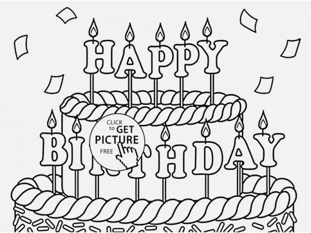 640x480 Happy Birthday Coloring Card Gallery Happy Birthday Card Printable