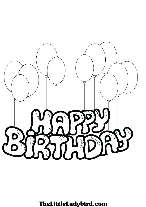 618x874 Coloring Page Birthday Card Happy Birthday Mom Free Coloring Page
