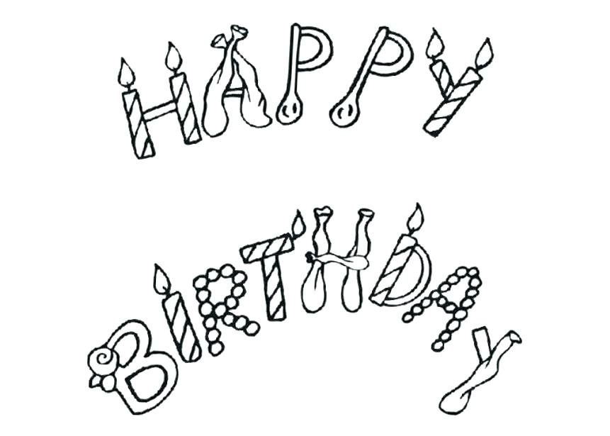 861x615 Free Printable Happy Birthday Daddy Cards Coloring Pages