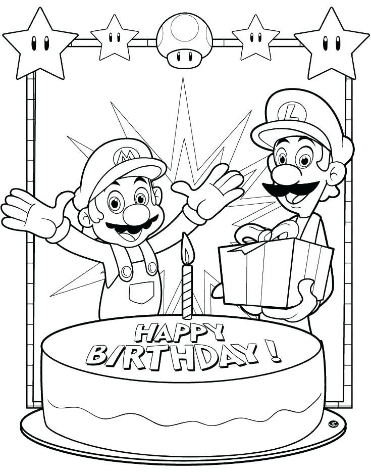 735x936 Happy Birthday Cards Free Printable