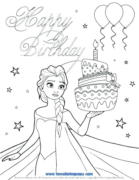 489x633 Coloring Pages Happy Birthday Happy Birthday Mommy Coloring Pages