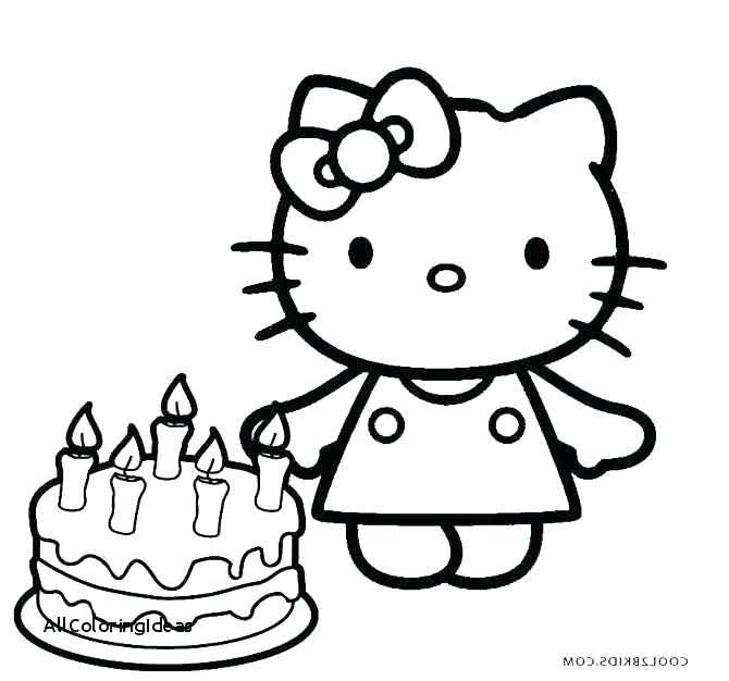 670x626 Birthday Color Pages Cake Coloring Page Day Cake Coloring Pages