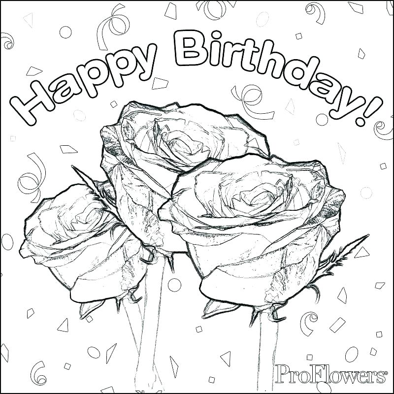 800x800 Birthday Cards Coloring Pages Best Happy Birthday Card Printable