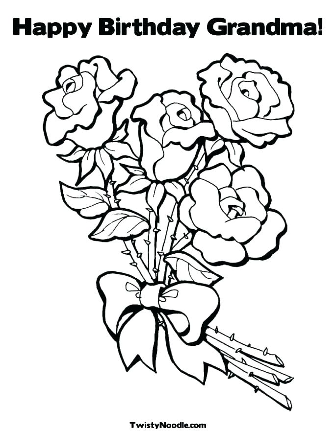 685x886 Free Birthday Coloring Pages To Print Happy Birthday Coloring