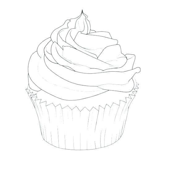 550x550 Printable Cupcake Coloring Pages For Kids Cupcake Coloring Pages