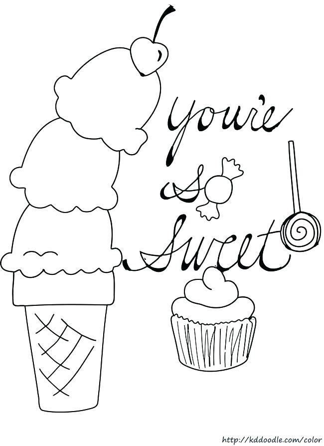 650x894 Cupcake Coloring Sheets Printables