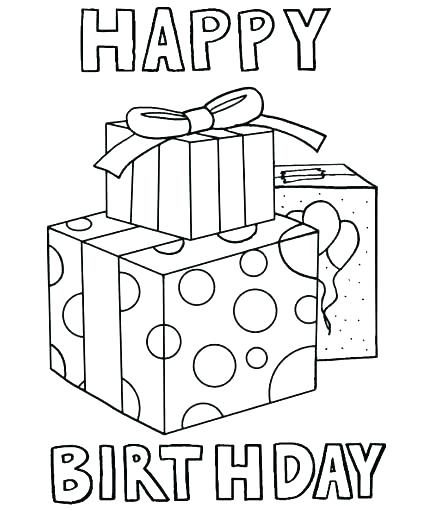 425x510 Happy Birthday Cards Color And Print Card