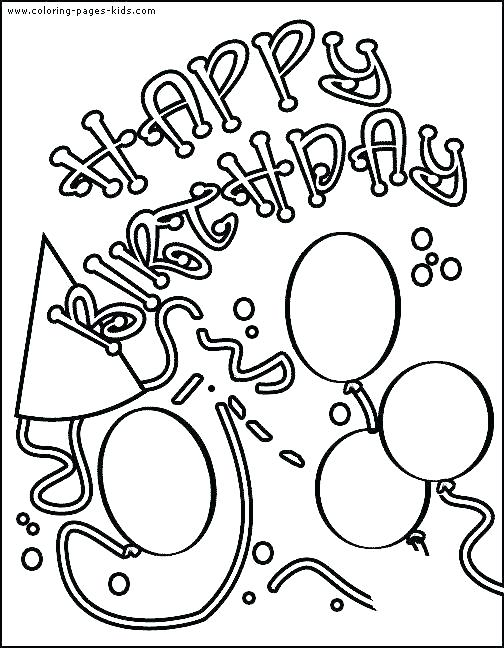 504x648 Luxury Printable Happy Birthday Coloring Pages Print Coloring