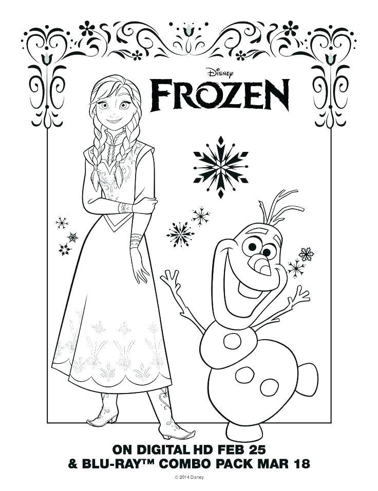 Happy Birthday Frozen Coloring Pages at GetDrawings   Free ...