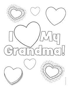 236x305 Happy Birthday Grandma Coloring Page