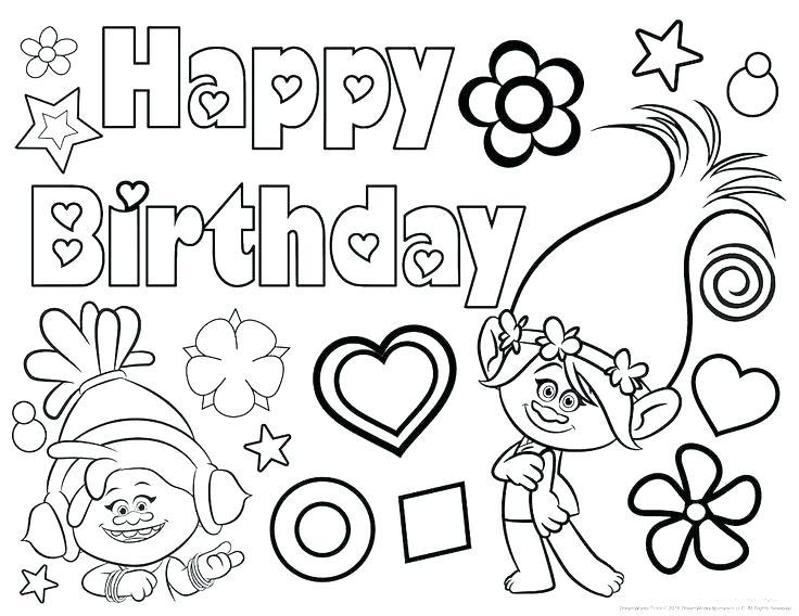 Happy Birthday Jesus Coloring Page