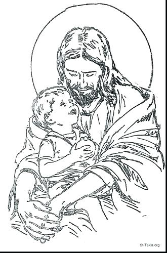 330x500 Happy Birthday Jesus Coloring Page