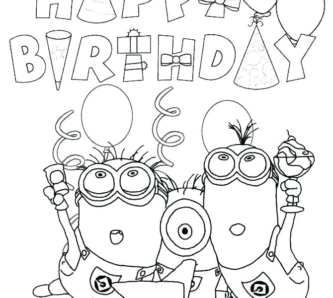 670x600 Happy Birthday Jesus Coloring Page