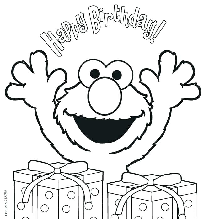 650x699 Free Printable Happy Birthday Coloring Pages Birthday Coloring