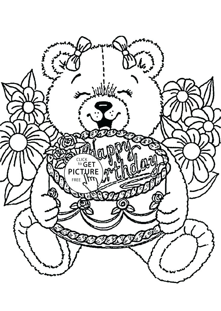 736x1034 Happy Birthday Mom Coloring Cards Happy Birthday Coloring Cards