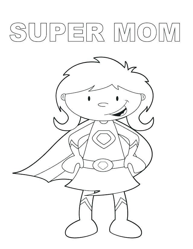 640x828 Birthday Coloring Pages For Mom