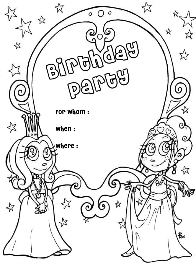 Happy Birthday Mom Printable Coloring Pages